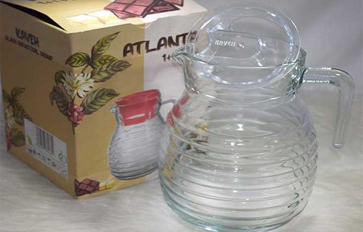 پارچ آتلانتا سفید یخچالی